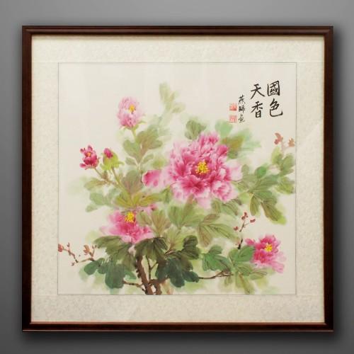國色天香牡丹畫